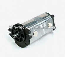 Mini hydraulic tandem gear oil pump for agriculture industry