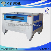 plastic,wood pen laser engraving cutting machines price and co2 laser engraver JQ1390 with CE