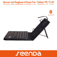 for ipad samsung asus google lenovo 7 inch 8 inch tablet PC detachable Bluetooth keyboard case universal design