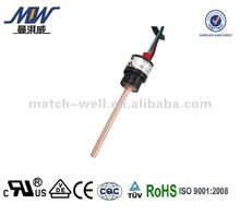 Copper tube manual reset air pressure control switch with UL/TUV approved