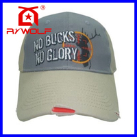 RZWOLF summer high quality 3d embroidery cotton worn-out baseball cap