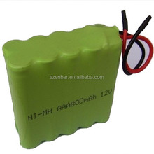 Vacuum cleaner battery AAA 800mAh 12v NI-MH rechargeable battery pack