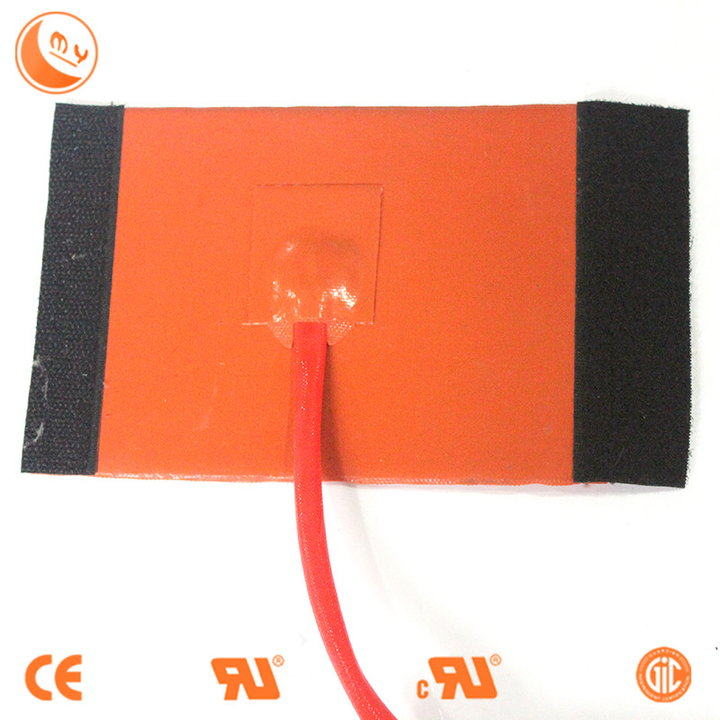 Silicone rubber heater 120v/220v 300w round shape 3d printer heater