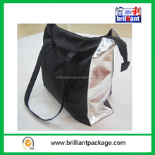 custom small polyester lady travel bag ladies taveling shoulder tote bag