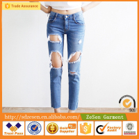 Cheap Price Hot Quality 2016 Hot Jeans Garments Export Wholesale