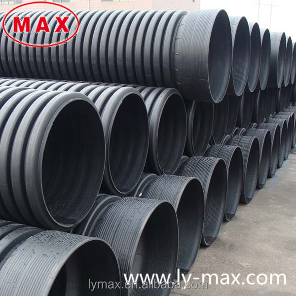 2015 hot sale plastic corrugated culvert pipes buy for Buy plastic pipe