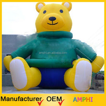 2015 High Quality newest Design Inflatable Replica/ Inflatable giant bear/ Inflatable animals