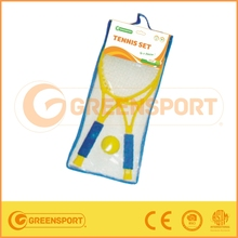 GS028 Tennis racket set with PVC bag packing