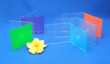 5.2mm slim cd case colorful designs for CD/DVD single or double