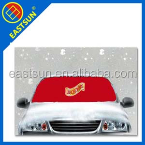 car window high quality ice/snow shade in cool winter