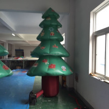 2015 Hot sale indoor inflatable christmas tree for advertising