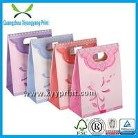 fancy pink paper purse gift bags wholesale