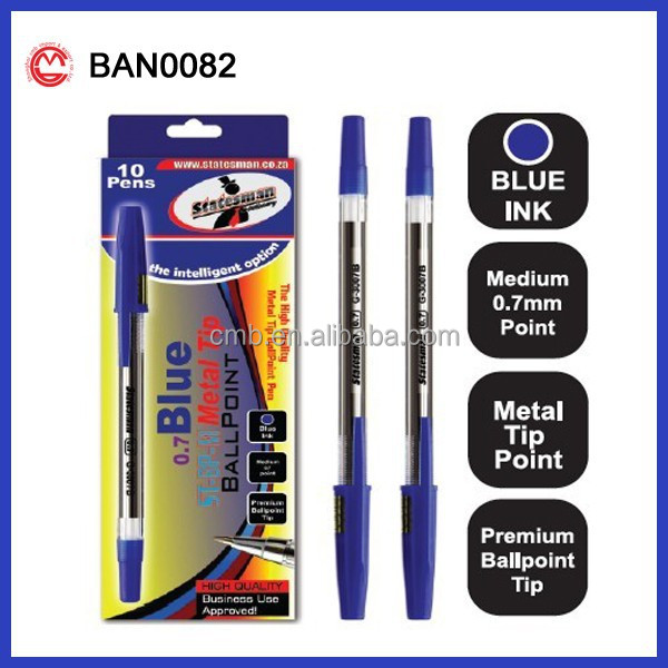 Private Label Advertising Cheap Plastic Ballpoint Pen