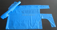 disposable plastic cleaning aprons for household use