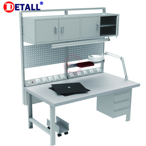 Hot Sale heavy duty metal workstation steel work bench with drawers