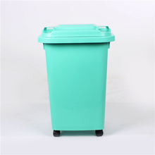 Wholesale Market Durable Dust Indoor Use Garbage Plastic Wood Trash Bin
