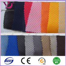 China wholesale storage bags polyester open weave mesh fabric