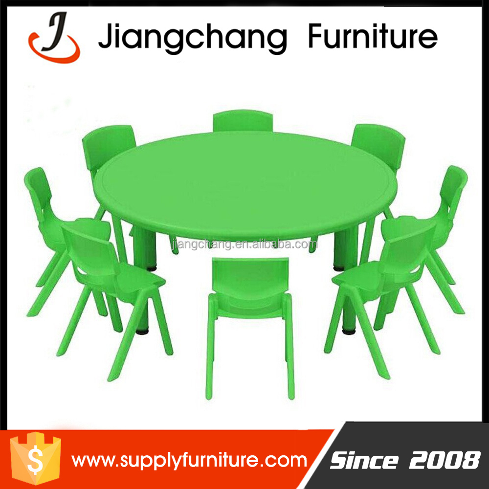 School Plastic Drawing Children Table And Chairs Set JC -ZYS25