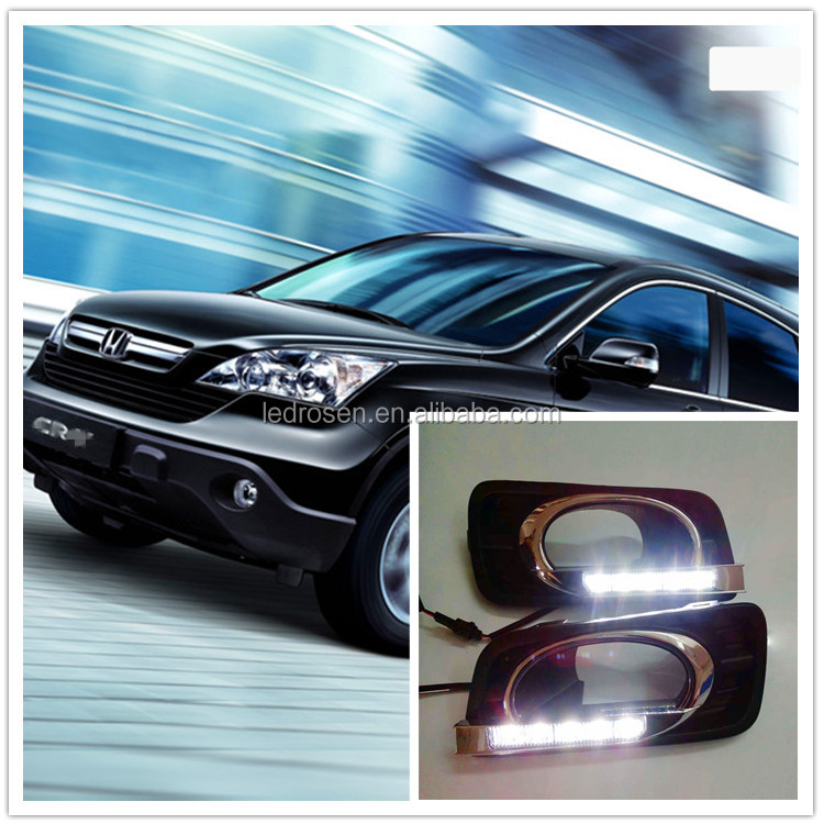 Factory popular sale high quality led day running light for Honda city car led drl head light