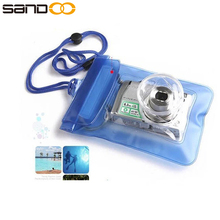Made in China cheap waterproof video camera bag, clear pvc water proof photo bag