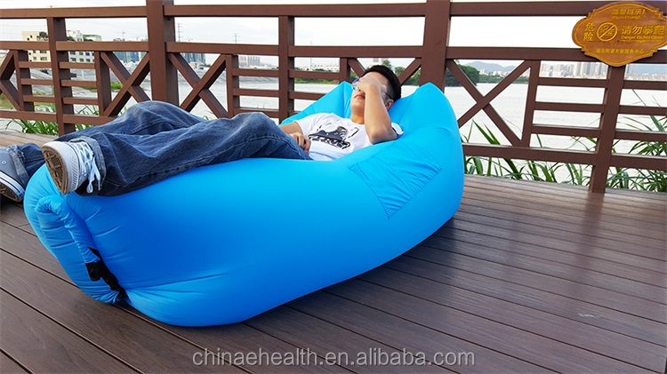2017 lamzaces hangout inflatable air sofa lazy bag