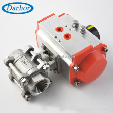 thread G pneumatic electrically actuated ball valve