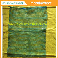 vegetable protection mesh bag and warp knitted fabric harvest leno mesh bag for vegetable