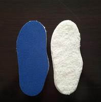 Kids Warm Lambwool Insole Latex Foam insole