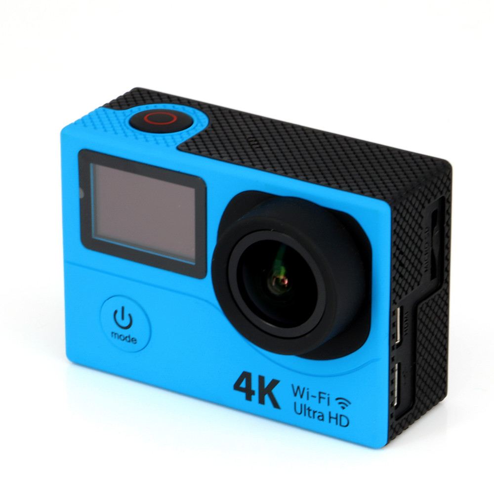Mini Wireless Dual display Screen 4K Ultra HD Water Proof Sports Camera action digital Camera H3