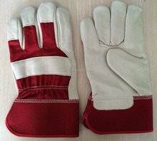 Head layer leather gloves <strong>safety</strong> working gloves
