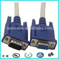 1m 2m 3m male to female 1920 *1080 resolution vga cable