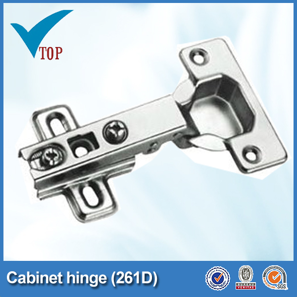 Iron furniture nickel plated cabinet slow closing hinge