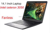 Factory price 14 inch used laptops in bulk intel 3050 4GB 500GB mini laptops