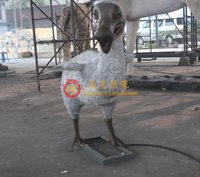 Historical period simulation attraction ancient animal