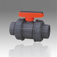 ERA China manufacturer 2 inch pvc double union ball valve price
