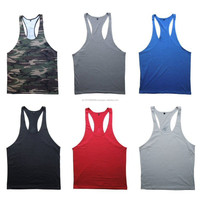 Top quality cheap prices wholesale gold gym singlets
