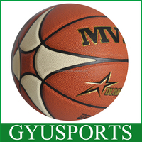 Cheap promotion size 7 custom rubber basketball in bulk
