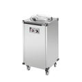 Stainless Steel Commercial Electric Plate Warmer Cart