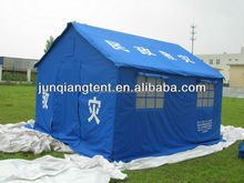 6 man fireretardant disaster relief tent refugee winter tent equipment wind shelter with mosquito net