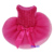 Valentine's Day Hot Pink Rosettes Pageant Tutu Dog Pet Clothes Party Dress XS-L