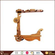 New products special antique wood wine grass rack