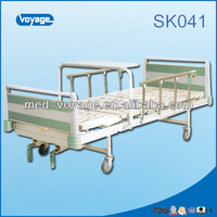 SK041 double function 2 Crank Manual Hospital Bed