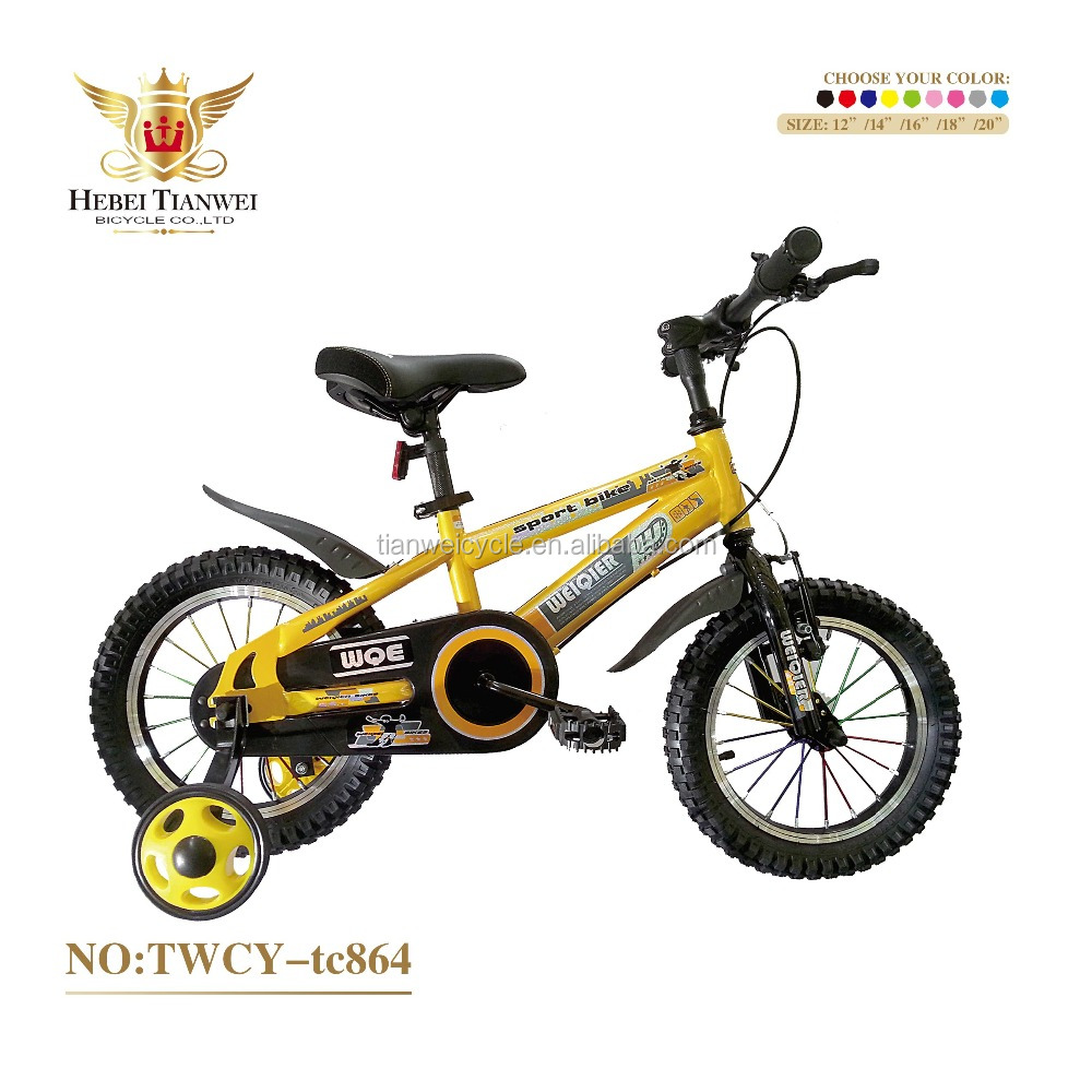 wholesale 14inch 5years old kids safety ride one bicycles