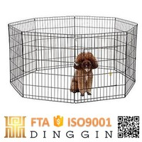 portable expandable dog fence