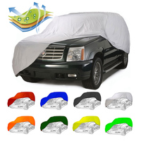 2-sides stretch fabric waterproof car cover