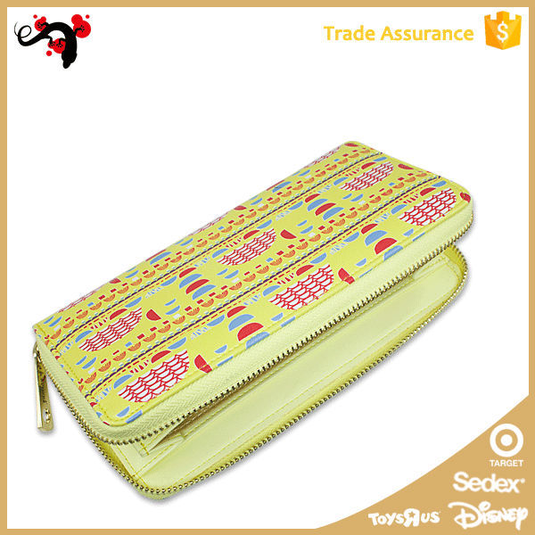 Chinese Famous Branded Women Leather Wallet Manufacturer