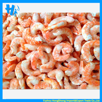 Frozen cooked vannamei white shrimp meat