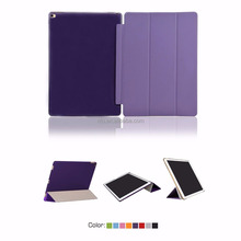 For iPad 2/3/4 Smart Cover, Leather And Plastic Case for iPad Detachable Case