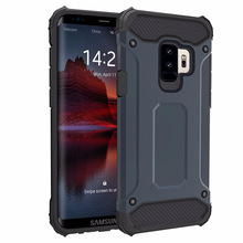mobile accessories new design pc tpu combo rugged hybrid case for samsung s9 case
