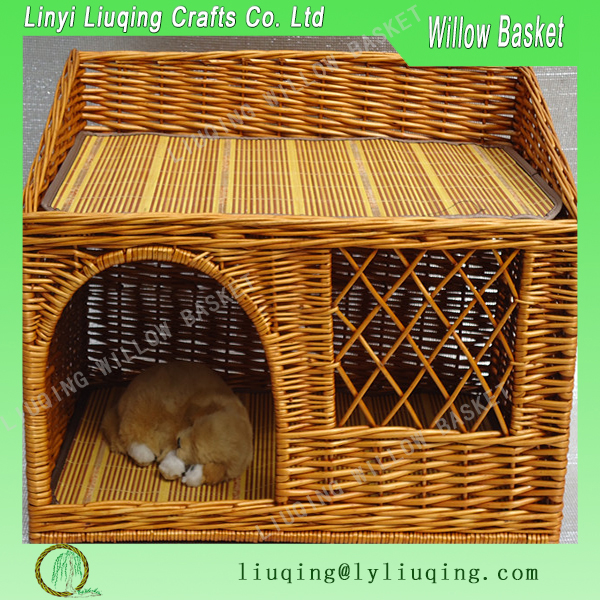 wicker pet house dog/cats baskets